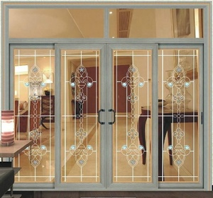 magnet sliding doors aluminum alloy door