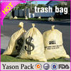 Yasonpack garbage bags with logo transparent garbage bag heavy duty garbage bag