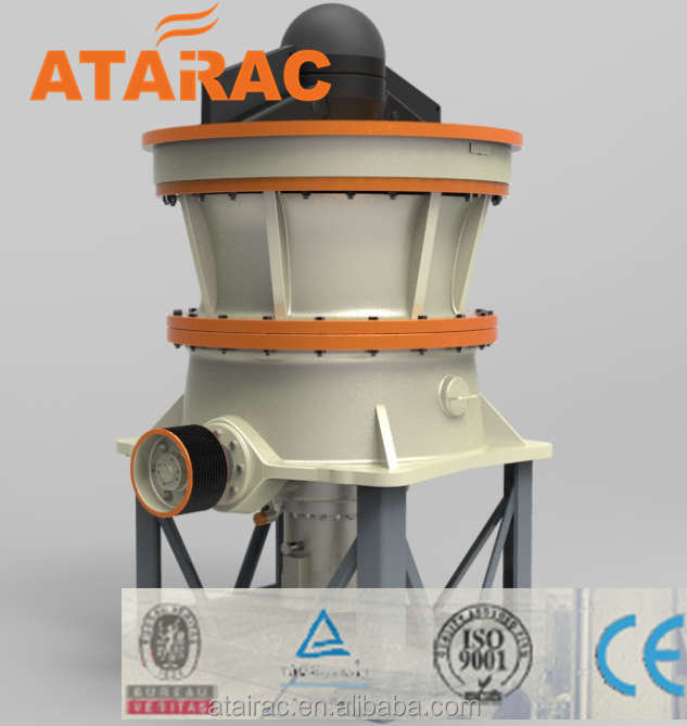 Stone crushing Hydraulic Cone Crusher have high efficiency with ATAIRAC GPY200