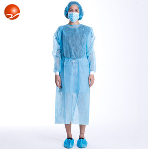 High quality disposable aprons with sleeves