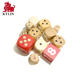 New Design Wooden Custom Professional Casino Round Corner Game Dice with Dot
