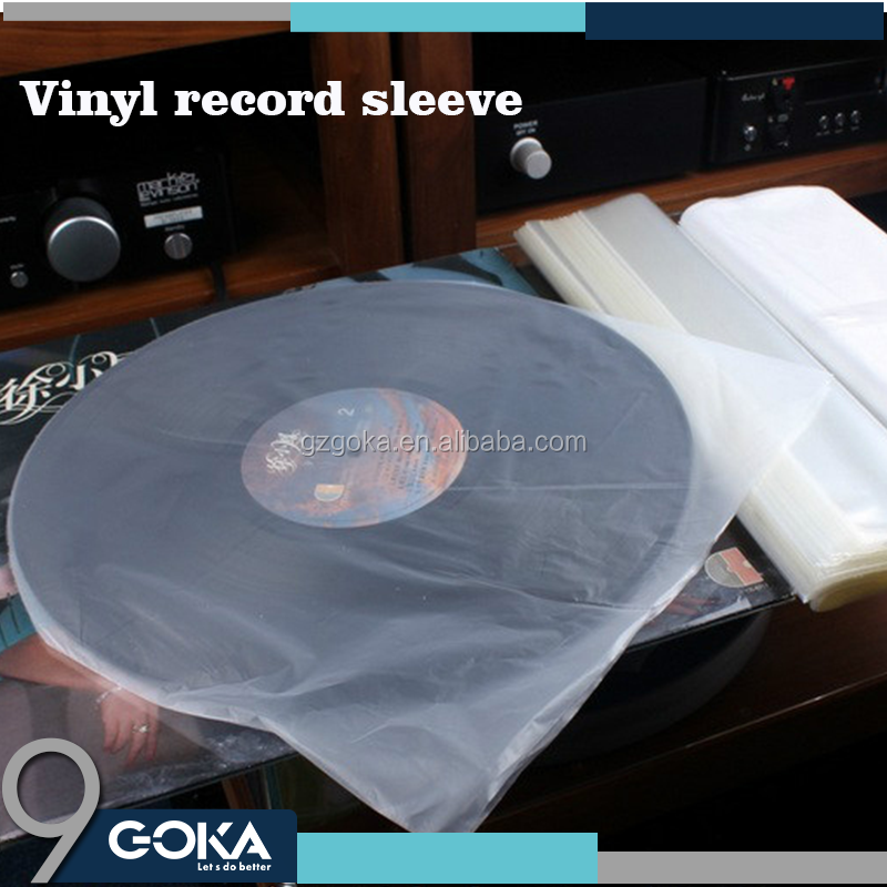 Clear Self Adhesive Resealable OPP Record Sleeve