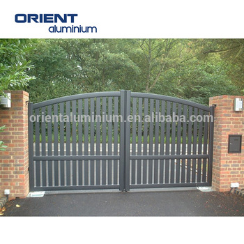 Hot Price Latest House Main Gate Designsiron Fancy Gate Boundary