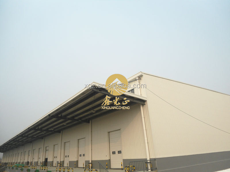 Steel Structure Warehouse/workshop/shed Building Materials with high quality