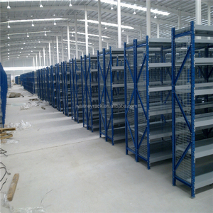 Automatic warehouse racking system slotted angle iron racks,playwood panel metal rack