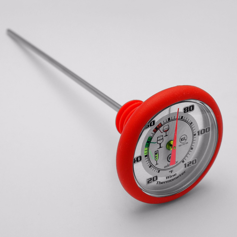 Alcohol Wine Bottle Thermometer