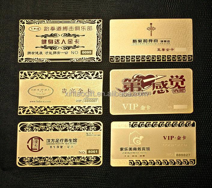 Cheap Metal Material Aluminum Business Cards Buy Cheap
