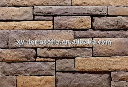 piedra artificial para paredes interiores y exteriores alta calidad decorativa de piedra antiguo azulejo