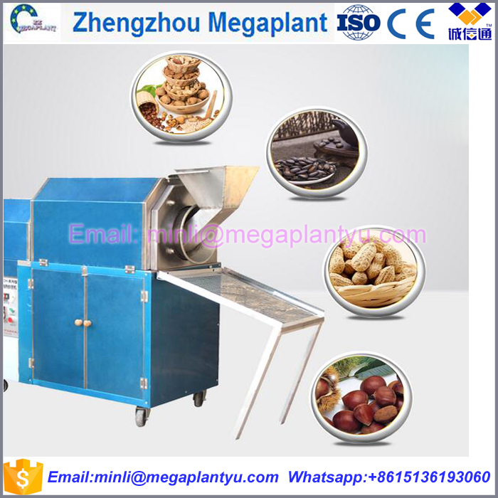 automatic sunflower sesame chili seeds roasting machine price /peanut roasting machine