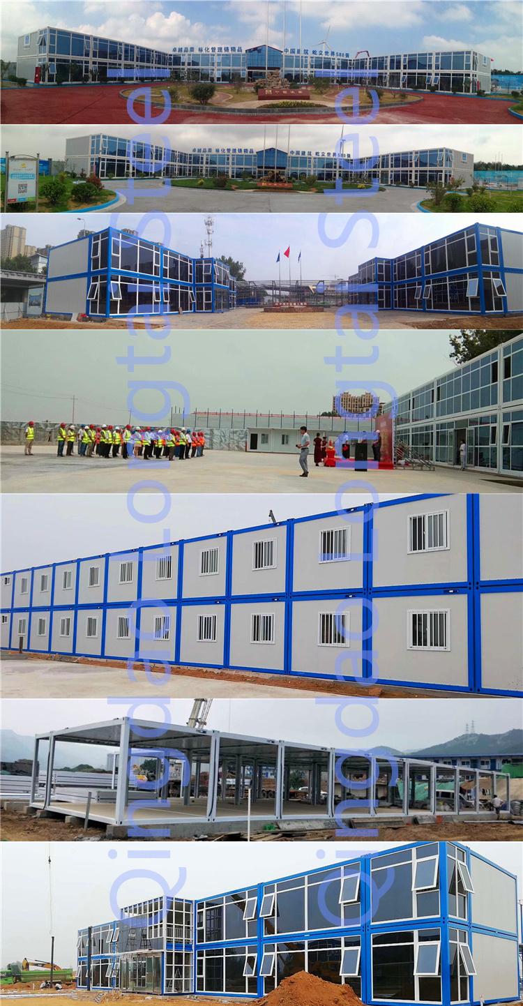 Mobile modulare luxus vorgefertigte container haus design pläne