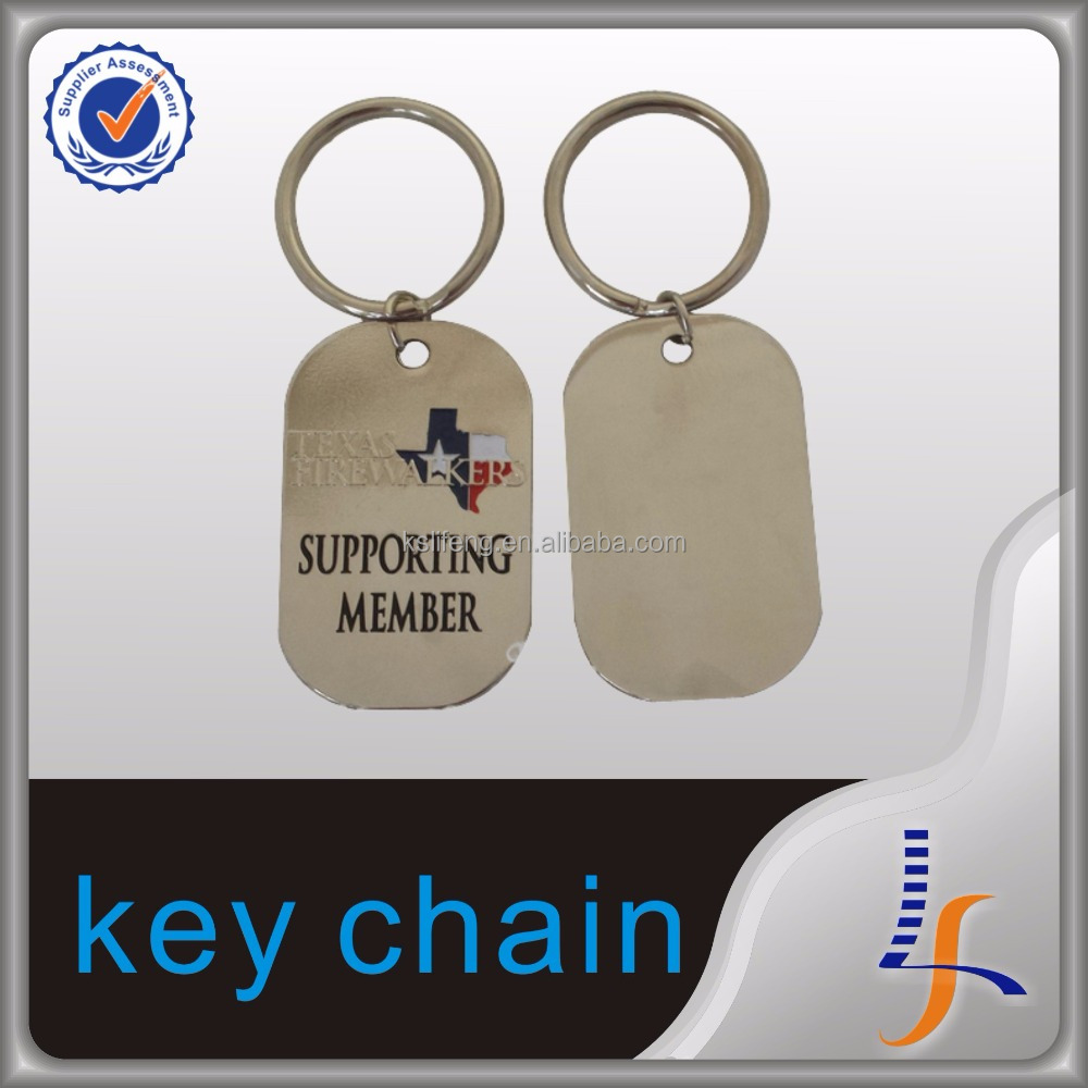 keychain custom manufactures keychain metal gold plated keychain