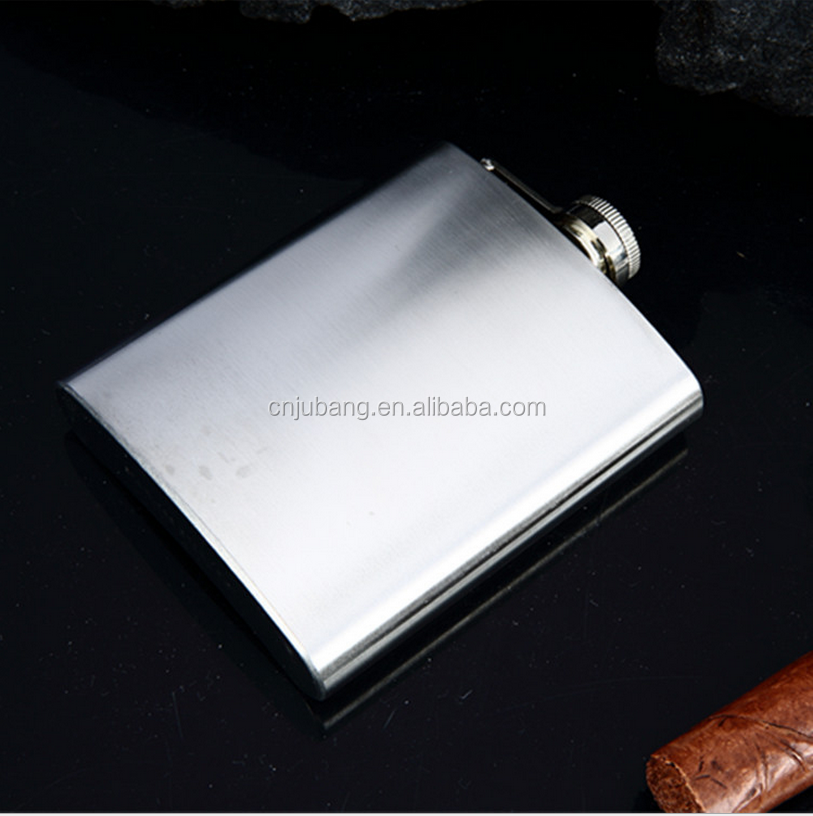 New Alcohol Pocket Flask 8oz with Funnel Stainless Steel Hip Liquor / stainless steel flask