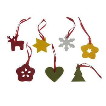 Felt Christmas Tree Ornaments Patterns.Xm2 23 Hanging Laser Cut Felt Christmas Ornament Patterns Gift Buy Christmas Ornament Felt Christmas Hanger Xmas Tree Hanging Product On