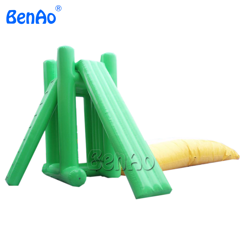 W121 inflatable water blobs with tower for sale, inflatable water catapult  blob, inflatable water game for adult and kids
