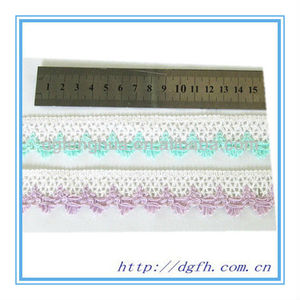 elegant lady Clothing Decorative lace trimming for handbags
