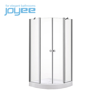 JOYEE philippines glass 2 sided shower enclosure
