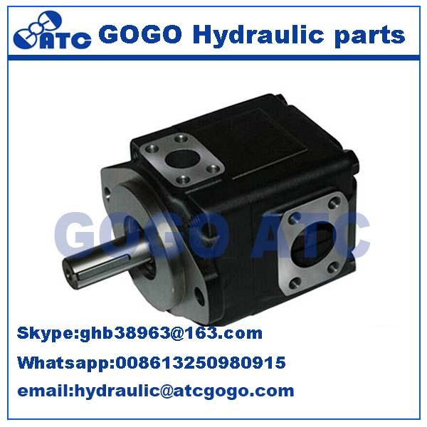 Parker Denison powerful hydraulic piston pump,Pressure vane axial piston motor T6CCM double vane pump