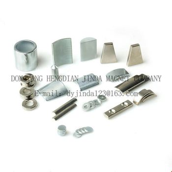 Attractive price new type high performance neodymium N35M disc magnets sale Zn