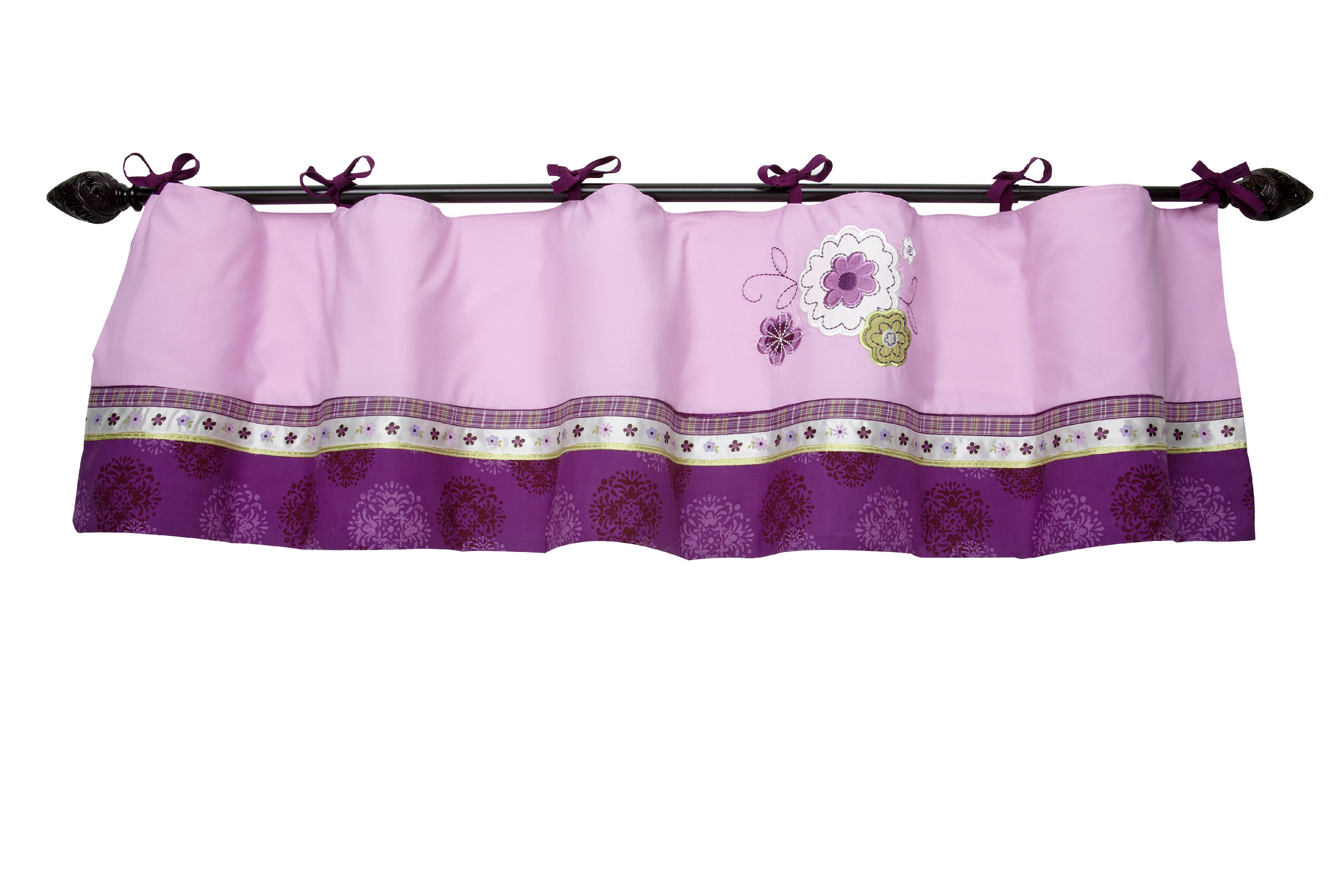 woodland window the shopping deals valance on cheap get valances shell peanut purple cotton find quotations by guides tailored