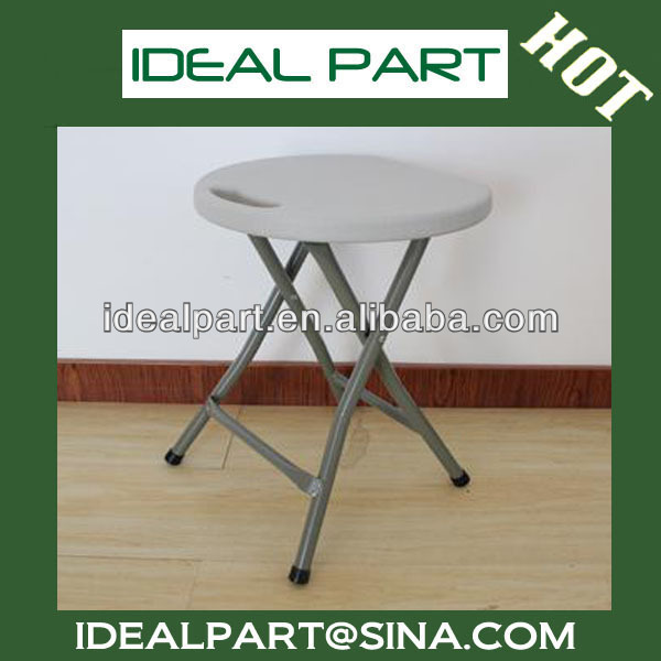 blow mold plastic folding stool for picnic