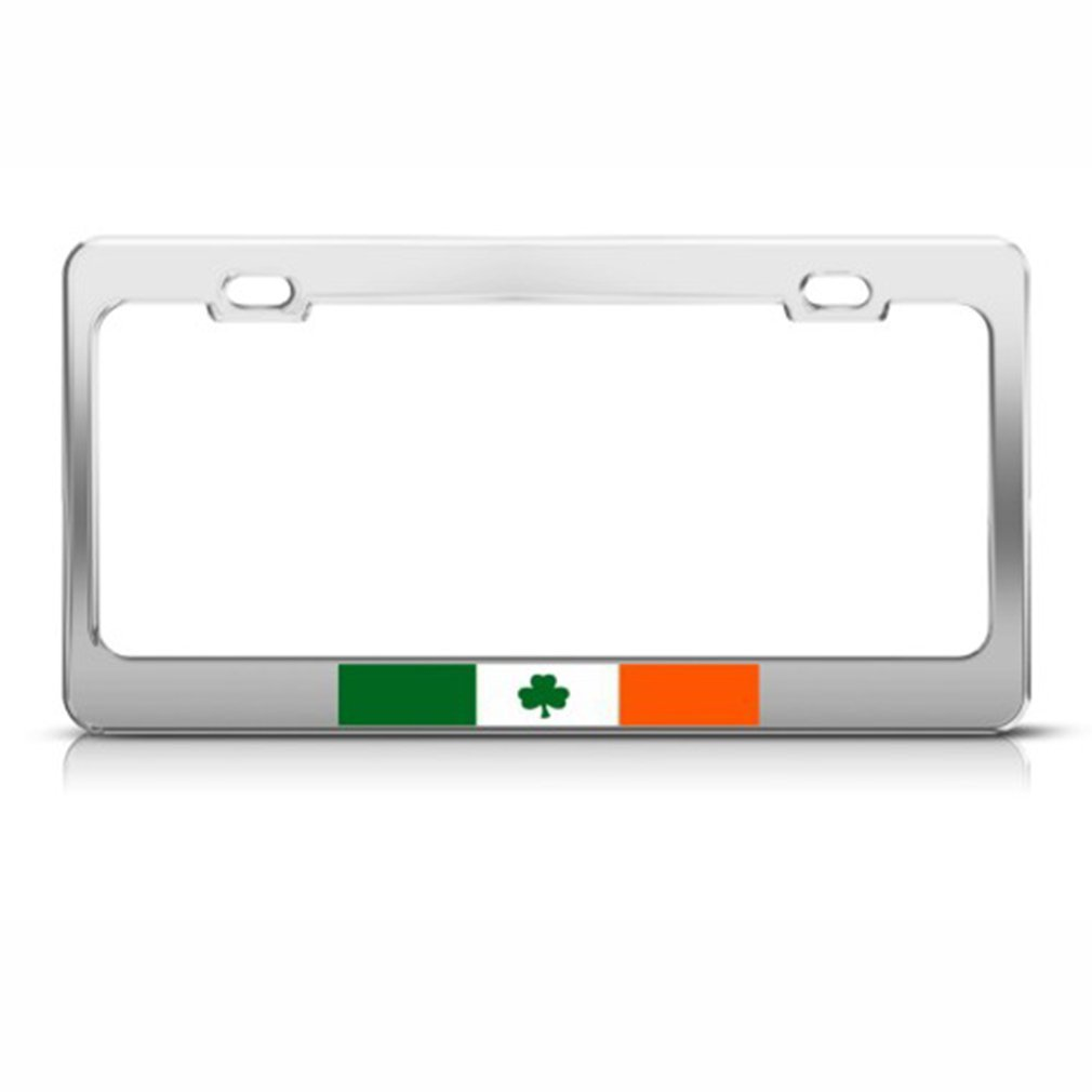 IRELAND FLAG METAL LICENSE PLATE IRISH SIGN EIRE L041