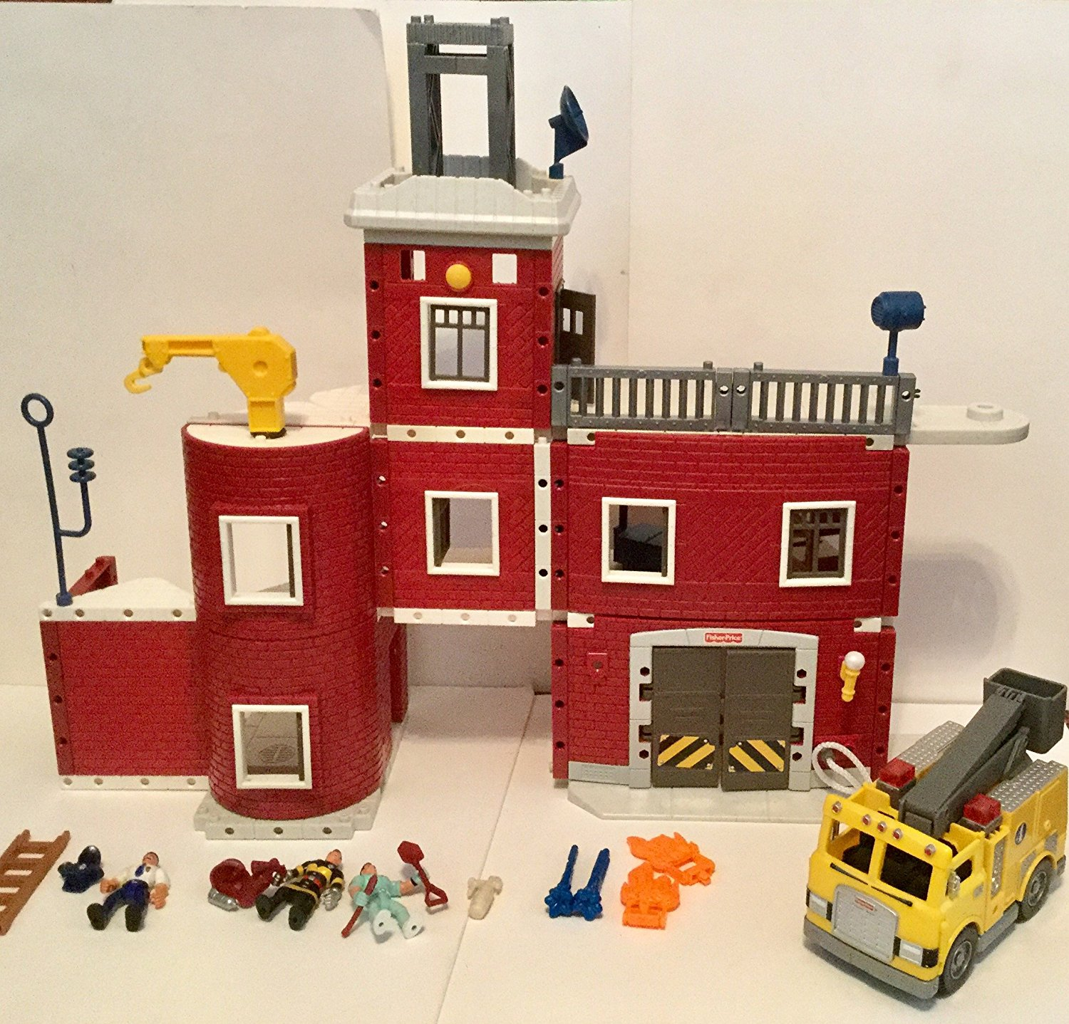 Buy Fisher Price Imaginext Fire Truck Playset In Cheap