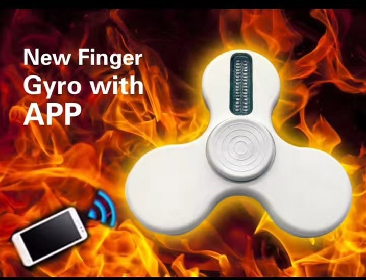 2017 Hottest APP LED Text Spinner, Bluetooth APP Text Spinner