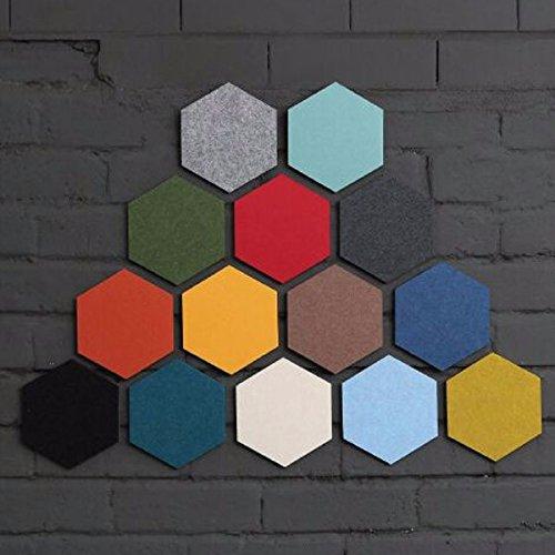 Hexagon Felt Pin Board