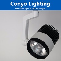 10w 20w 30w golden quality LED track light with wide range of rotation and distinctive design showroom