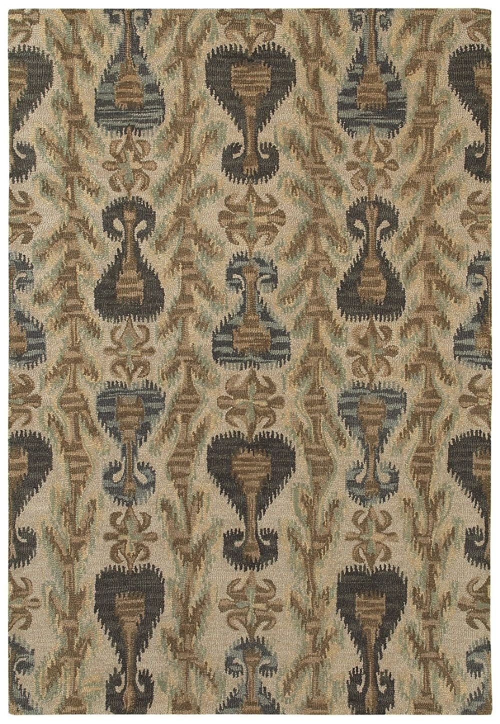 Transitional 8'x10' Rectangle Area Rug in Desert color from Nevada Collection