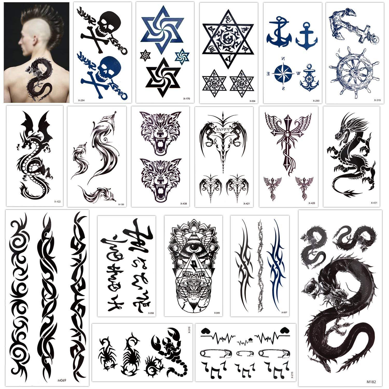 Buy Konsait Temporary Tattoo For Adults Kids Women Men 18