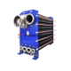 industrial plateair cooled heat exchanger MVR steam evaporator, heat exchanger condenser and evaporator