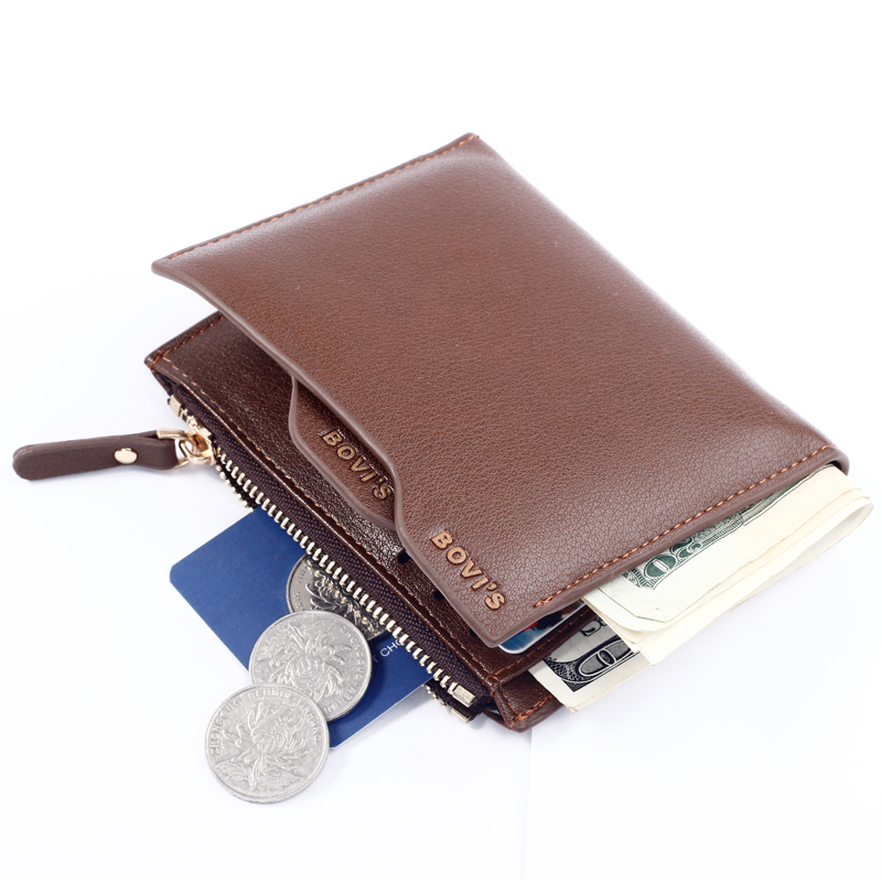 designer brand mens wallets i3qa  Get Quotations 路 Brand wallets men with change pocket zipper coin pocket men  wallets removable designer card holder coin