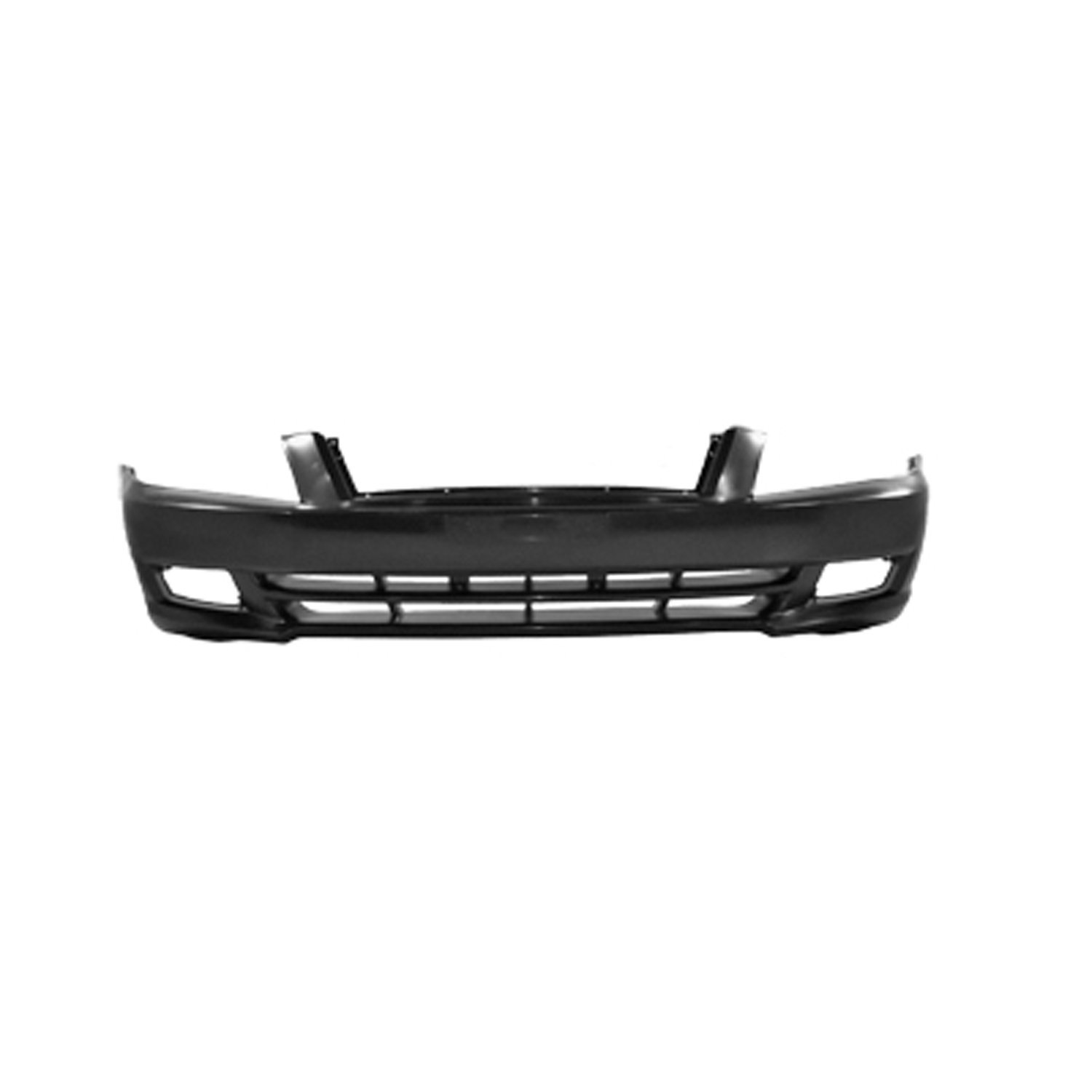 CPP KI1093101 Front Direct Fit Textured Plastic Valance for 2011-2013 Kia Optima