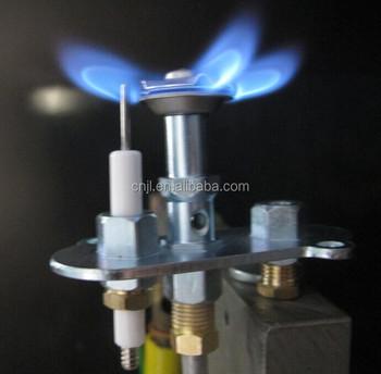 Pilot Side Entry 3 Way Burner With Adjustable Flame