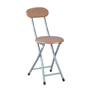 Small wooden folding breakfast chairs bar kitchen stool chairs