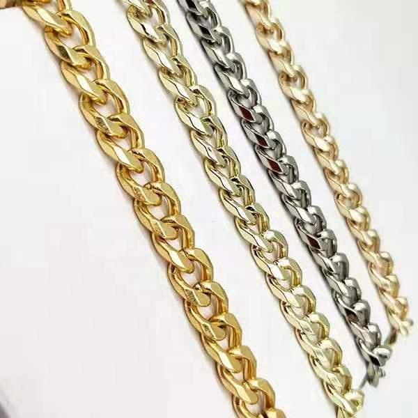 Accesorios para bolsos YK 0320, cadena de metal para bolsos con asa