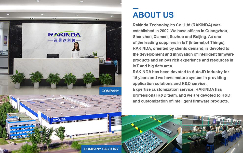 Langstrecken-RFID-UHF-Lesegerät Robuster Barcode-Scanner Industrieller Android-PDA