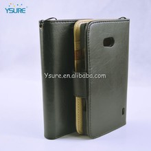 Premium leather cell phone case for BLU BLU Deco/ BLU Q250 with 3 credit card slots