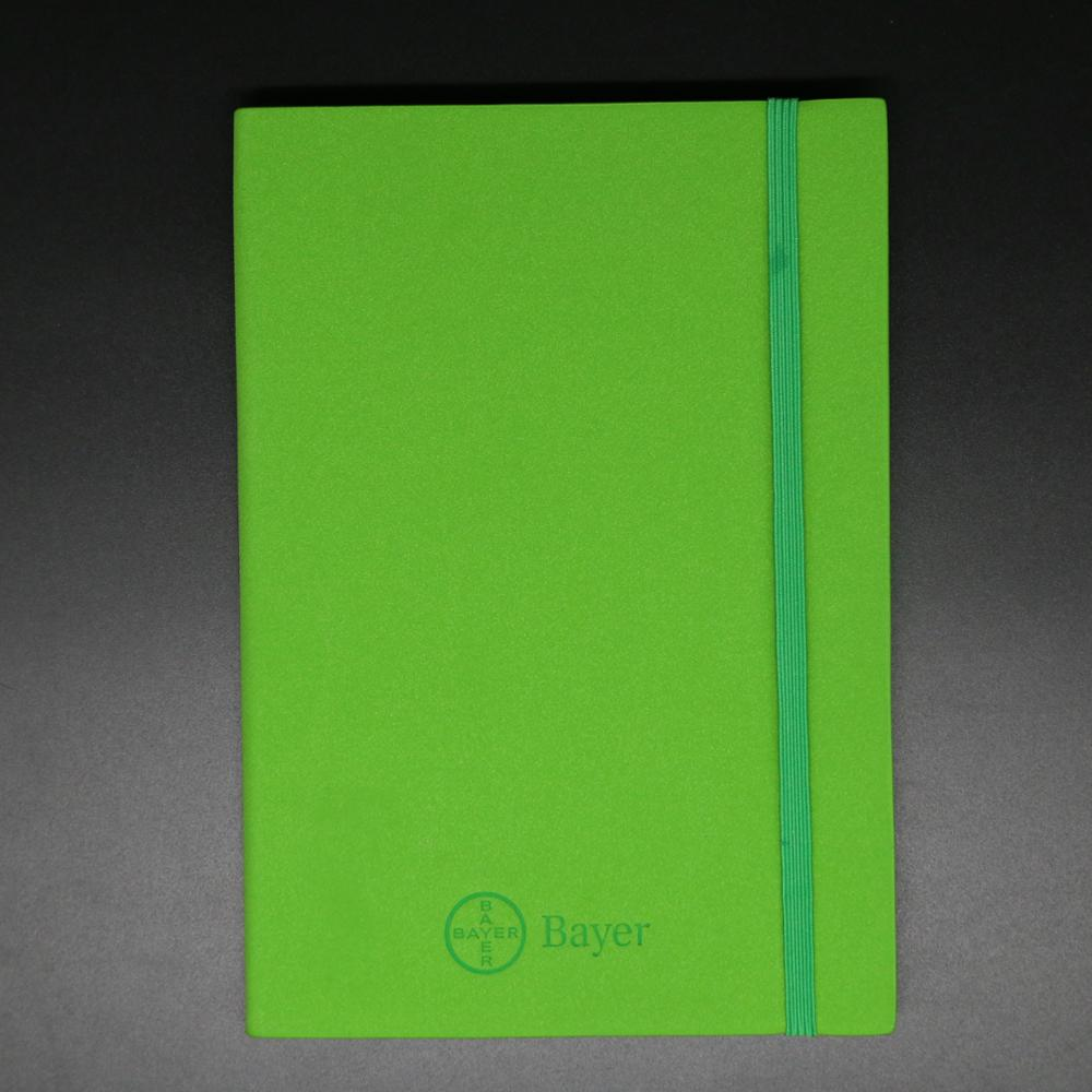 High quality themo pu leather custom writing book journal