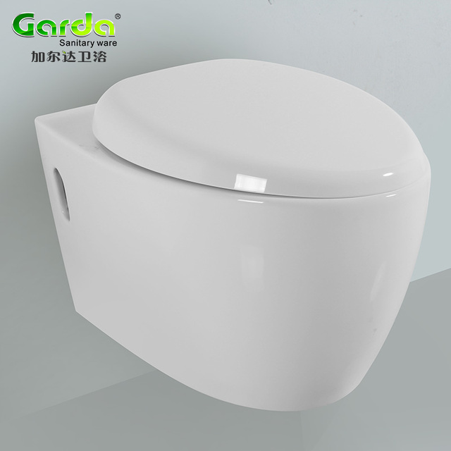 High end European square wall hung wc toilets from China