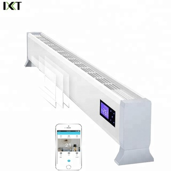 One-piece Base, Stylish And Safe Electric Heater By Smart Phone Control