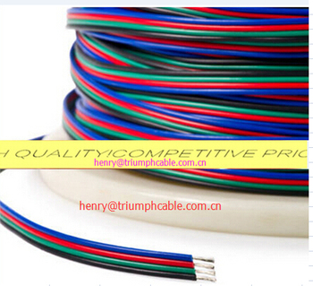 Rgbw 5wire Five Conductor Rgb+w Power Wire Cable Used For Rgbw Led ...