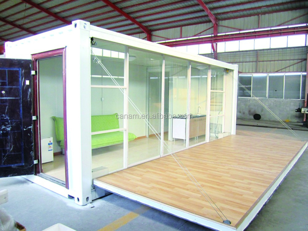 20ft Flat Pack Container House for Living Office Toilet Bathroom Shower