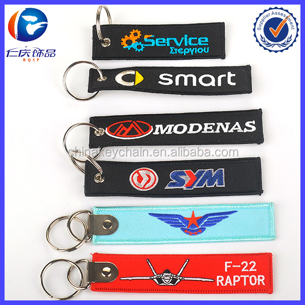 Promotion Colorful Custom Fabric Key Tag