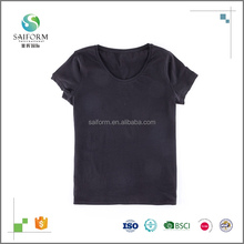 Wholesale Blank Simple 100% Cotton Slim Fit T Shirt For Women