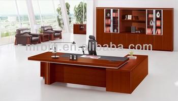 Angolo in legno massello scrivania legno scrivania esecutivo legno