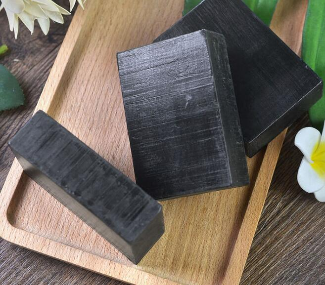 Ze Light Private Label Organic Black Soap Bamboo Charcoal Handmade Soap Whitening Soap