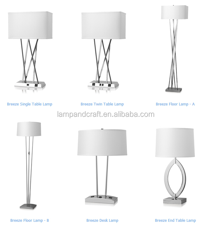 Breeze hotel lamp set ul cul metal table lamp with usb port and breeze hotel lamp set ul cul metal table lamp with usb port and power outlet in mozeypictures Images