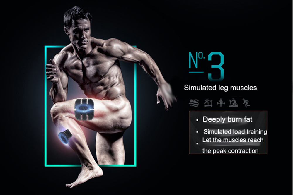 New Fitness Abdominal Muscle Stimulator Gym Equipment For training apparatus / smart fitness